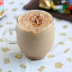 Nutella Cold coffee - With only 5 ingredients: Coff Recipes, Cold Coffee Drinks, Eggnog, Ice Coffee, Nutella Cold, Coffee Recipes, Jeyashri Kitchens, Cold Drinks, Cold Coff Drinks