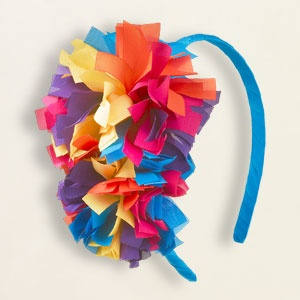 fun pompom headband for girls  #childrensplace