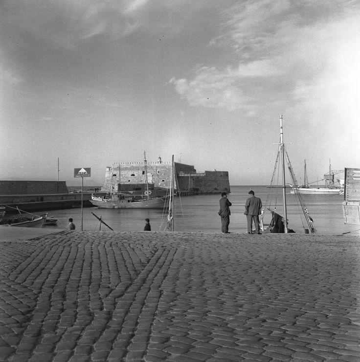 ΗΡΑΚΛΕΙΟ 1950-1970 ΦΩΤΟΓΡΑΦΙΑ Walter Schroder