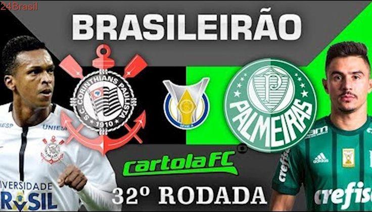 Corinthians 3x2 Palmeiras Brasileirão 05/11/2017 ((NARRAÇÃO COMPLETA))
