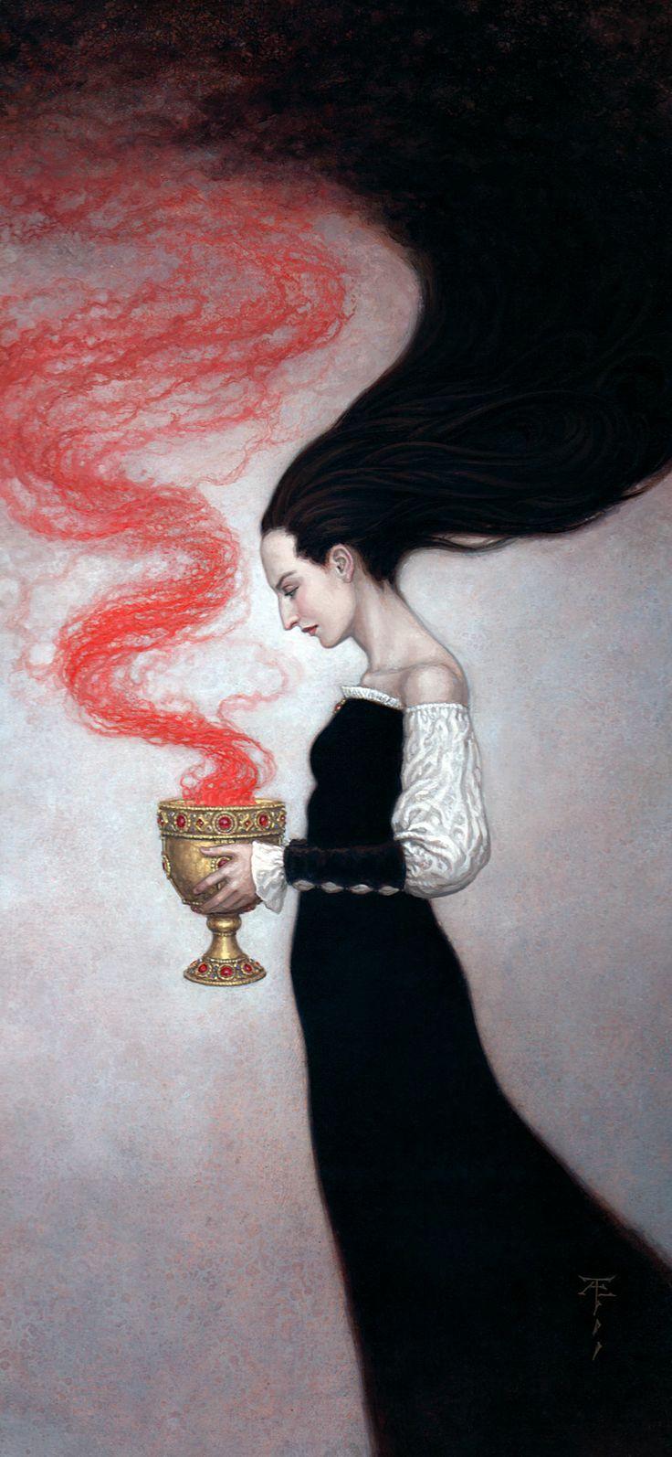 Morgana, an art print by Tristan Elwell