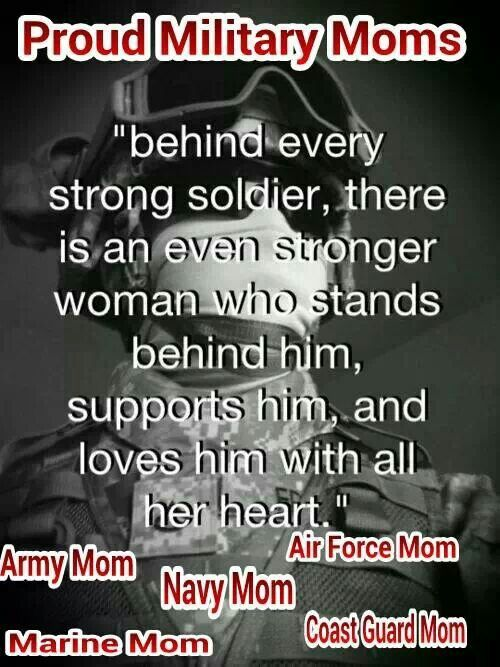 Proud to be an Air Force mom.