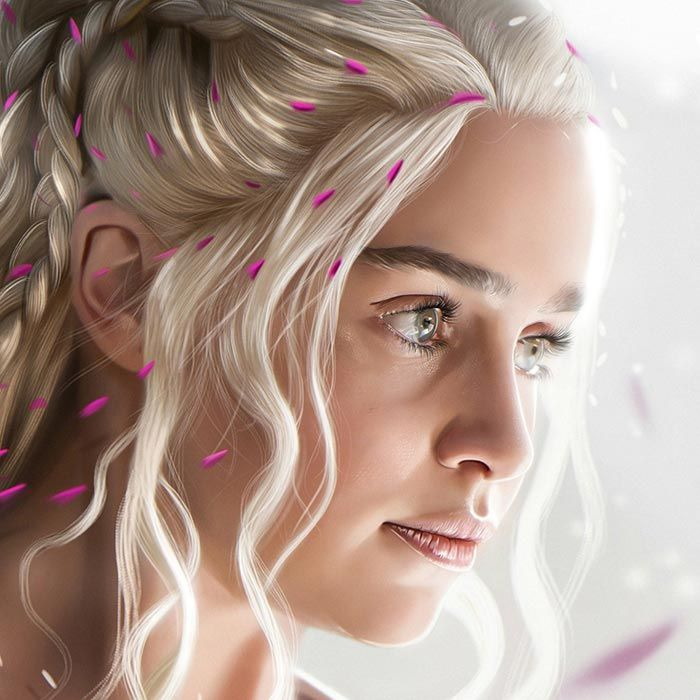 Game Of Thrones The Mother Of Dragons Wallpaper Engine Mother Of Dragons Mother Dragon