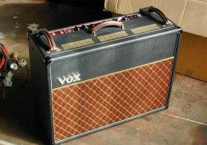 Vox AC30 used by Brian May at Wembley Stadium in April 1992 during the Freddie Mercury Tribute concert.