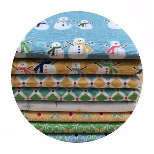 8 Fat Quarter Bundle - Cozy Christmas - Riley Blake Designs – Pins & Needles Fabrics