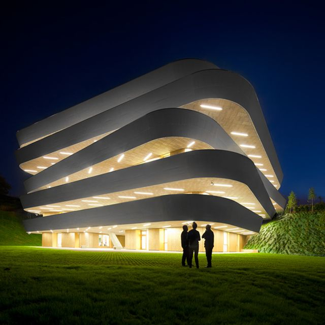 The 'Basque Culinary Center' by Vaumm architects is located in San Sebastián, Spain