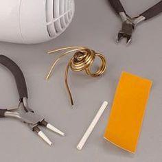 Ringe aus Aluminiumdraht selber machen