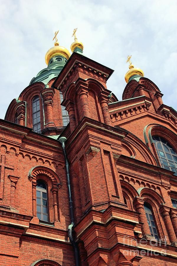 Upsenski cathedral in Helsinki