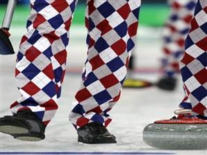 Norwegians. Pants. Curling.: Color