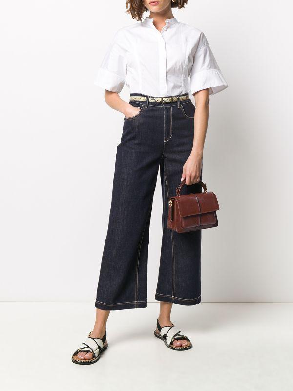 Marni حقيبة كروس أتاشيه Farfetch Fashion Style Normcore