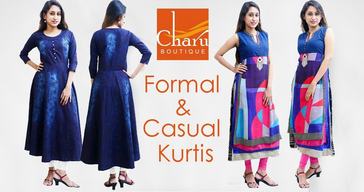 Be An #Ethnic #princesses, wear these Beautiful #kurtis by @CharuBoutique on this #love Season #Happy #Valentinesday
