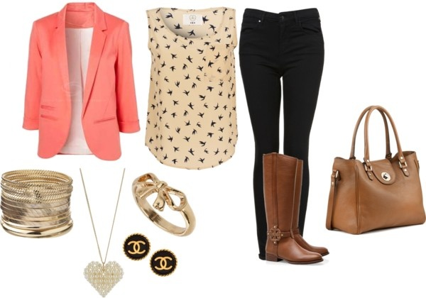 """Blazer Outfit"" by michaela-9-5 on Polyvore"