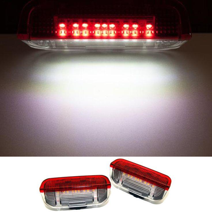 2X LED car Door Warning Light No Error Courtesy Under Door Light FOR VW Golf 5 6 7 Jetta MK5 CC Tiguan Scirocco Passat b6 b7