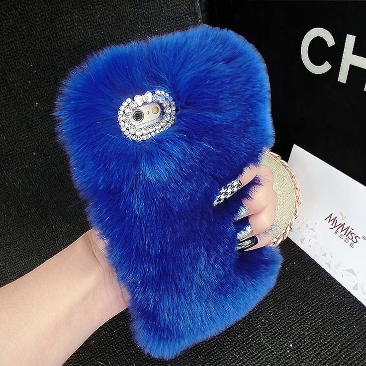 Hot! Quality Real Rabbit Hair Case Fur Rhinestone Bling Plush Furry Hard Cover For iPhone 4s 5s 5c 6 6Plus 7 7plus Case KS0335 // iPhone Covers Online //   Price: $ 13.98 & FREE Shipping  //   http://iphonecoversonline.com //   Whatsapp +918826444100    #iphonecoversonline #iphone6 #iphone5 #iphone4 #iphonecases #apple #iphonecase #iphonecovers #gadget #gadgets