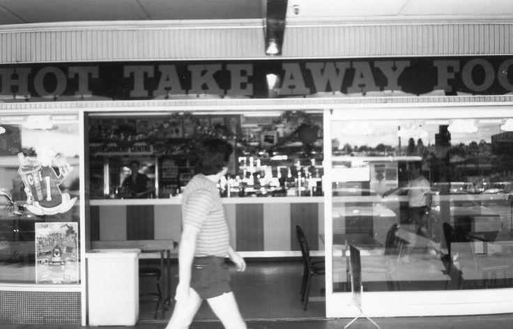 Jesmond NSW 1960s takeaway food shop