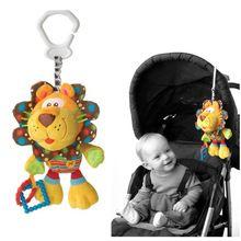 Kerstcadeau promotie leeuw activiteit spiraal bed kinderwagen opknoping speelgoed baby speelgoed baby geschenken knuffel baby geschenken Gratis verzending(China (Mainland))