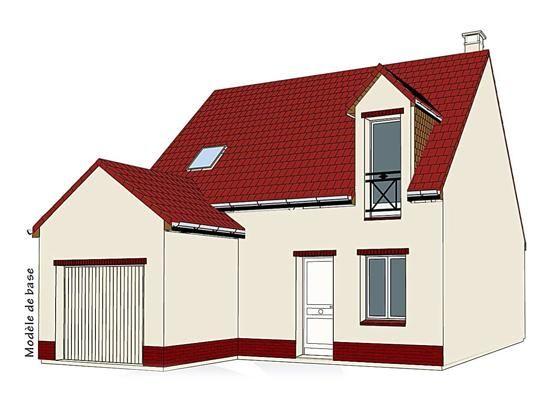 Mod le pc 40 pavillon avec garage comprenant cuisine ouverte sur le s jour wc au rez de - Surface habitable minimum d une chambre ...