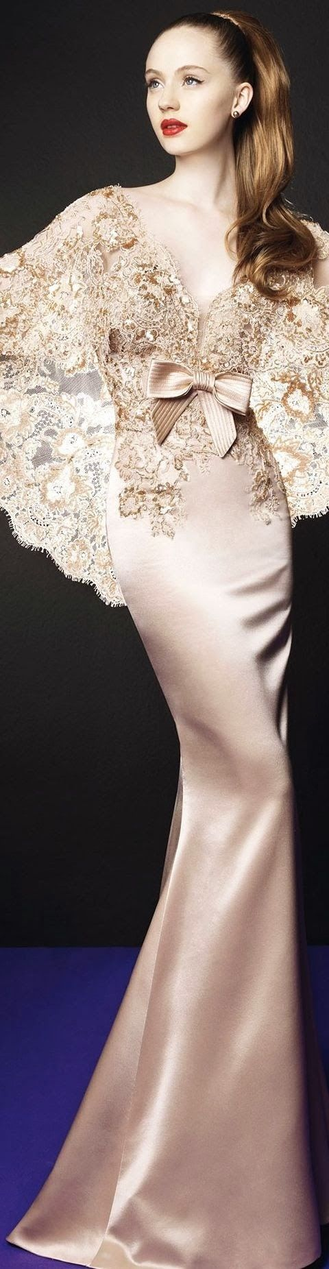 Zuhair Murad-Design~Gorgeous Lace Bodice~❥