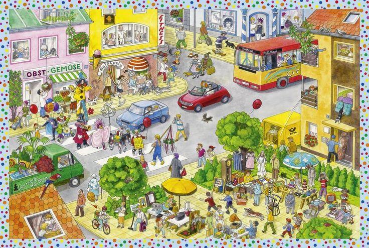 Катюша-колобуша: Жизнь города - вимельбухи.