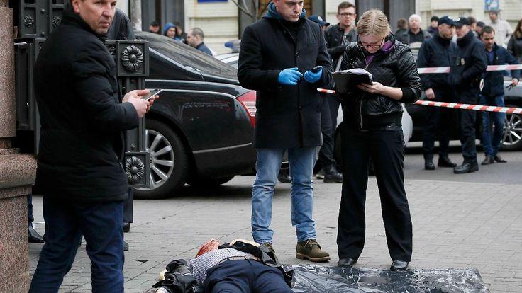 Auftragsmord in Kiew?: Geflüchteter Duma-Abgeordneter erschossen