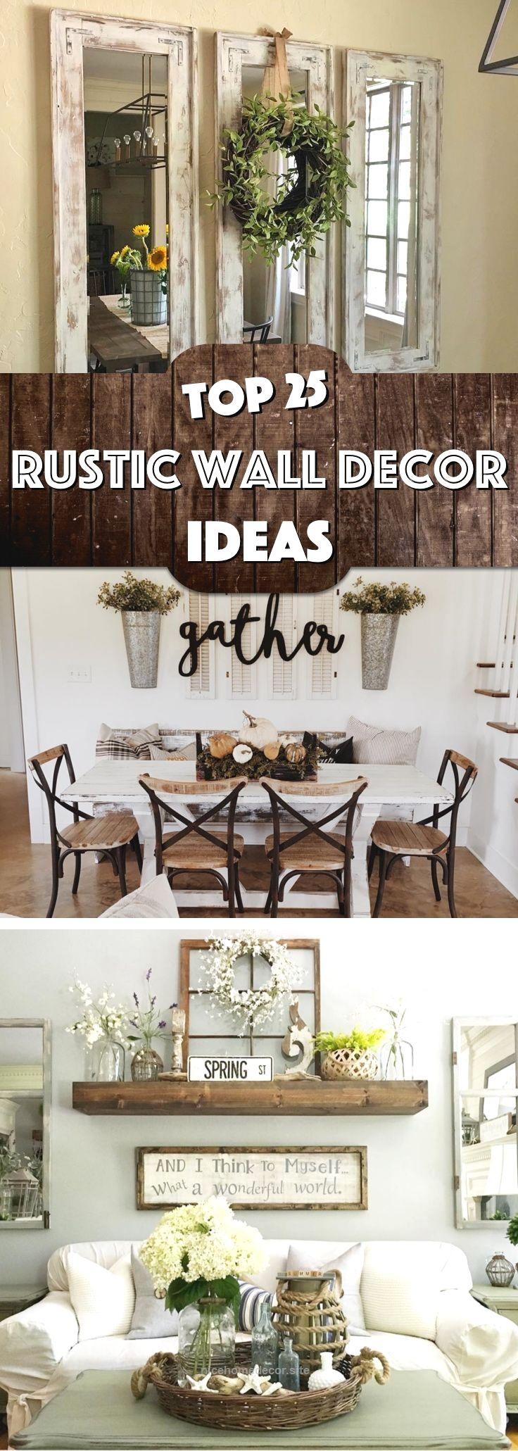 25 Must Try Rustic Wall Decor Ideas Featuring The Most Amazing Intended  Imperfecu2026 Http · Wohnzimmer InspirationDeko IdeenDekorationBastelnBaum ...