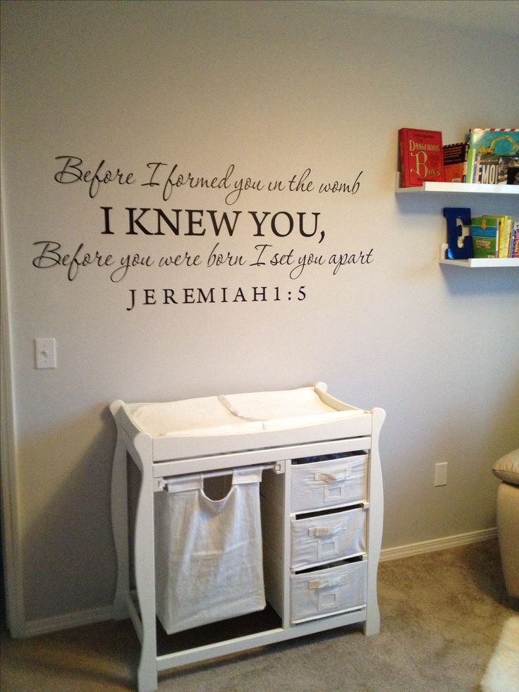 Baby boy nursery... I would put it above his bed, but I LOVE this!
