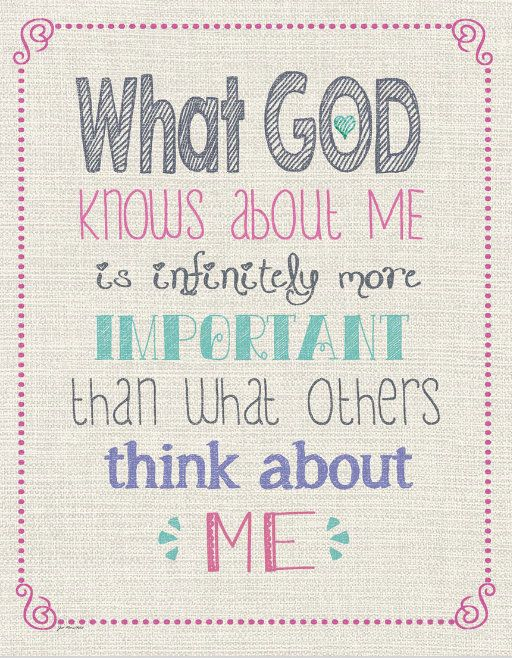 God Knows Me Wall Art