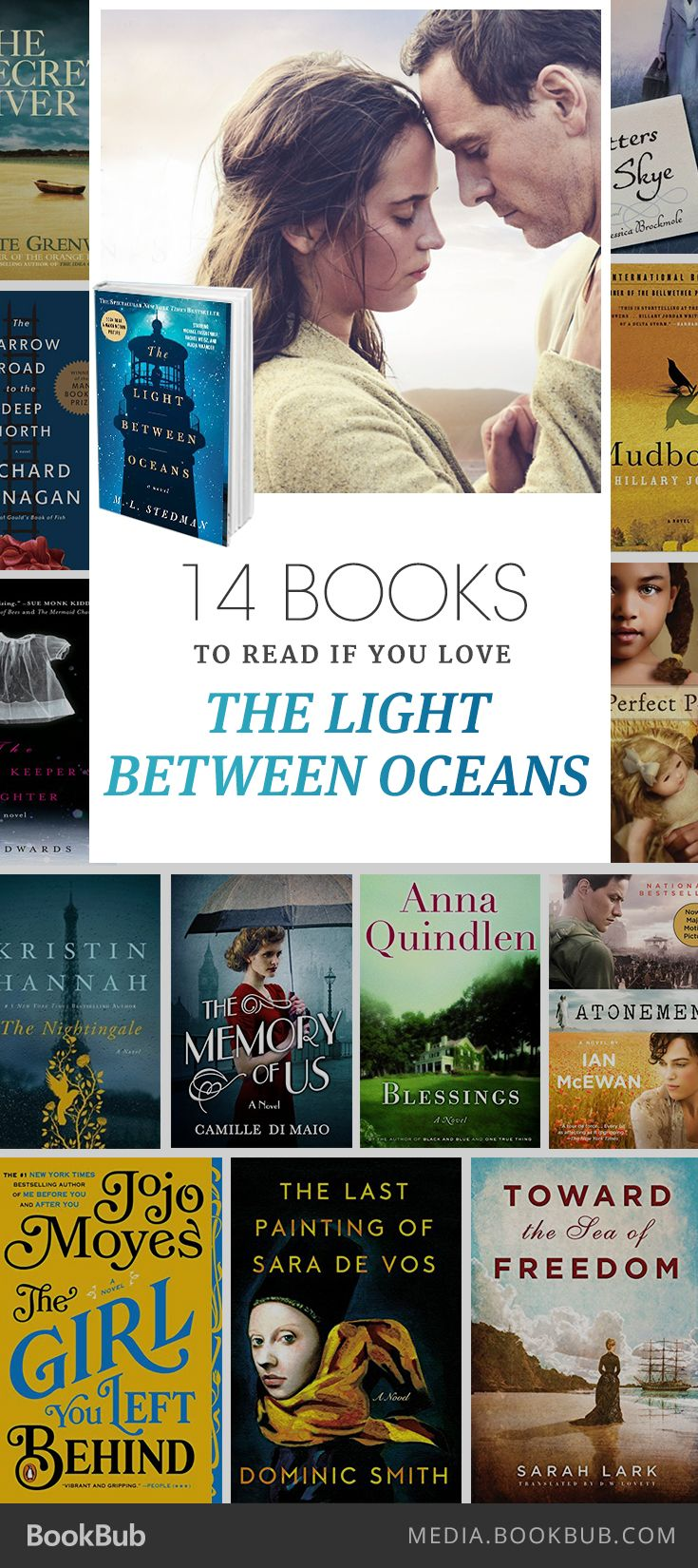 14 books for women, including Blessings by Anna Quindlen.