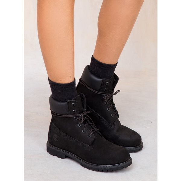 25 best ideas about black timberland boots on