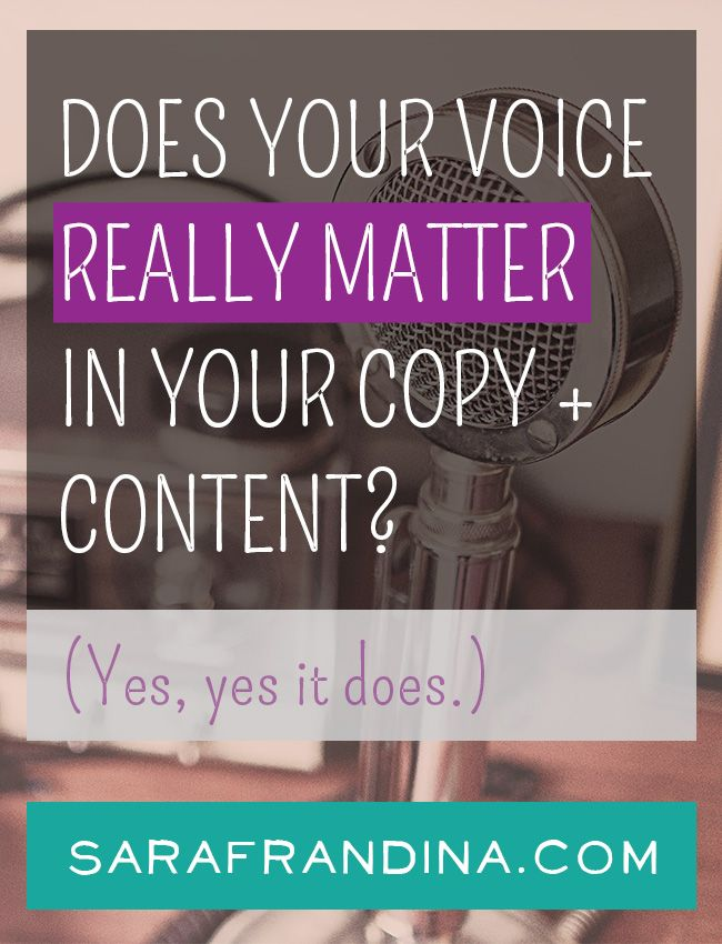 It is imperative that your voice stay consistent throughout all of your copywriting and content creation. Click to read a few of the major reasons why this is so important.