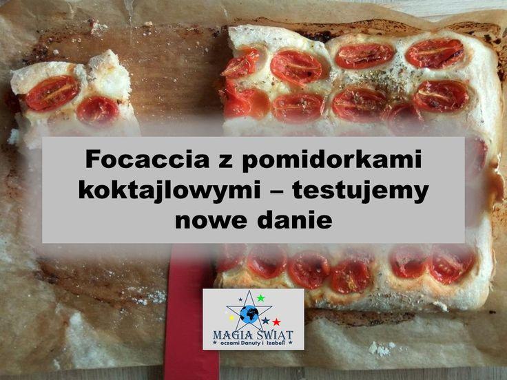 Focaccia Z Pomidorkami Koktajlowymi Focaccia Food Breakfast