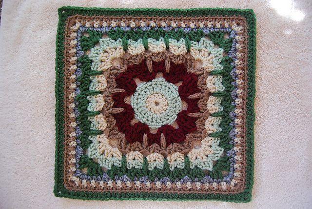 Mejores 1283 imágenes de Crochet Squares en Pinterest | Bloques de ...
