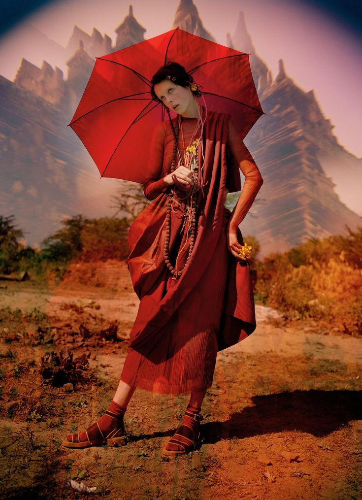 """Edie Campbell in """"Gilt Trip"""" by Tim Walker for W Magazine May 2014"""