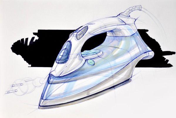 Sketching & Marker Rendering by Begum Tomruk, via Behance.