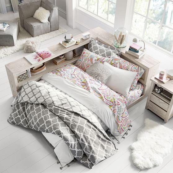 Costa Platform Lounge Bed -- $1700, no dresser.