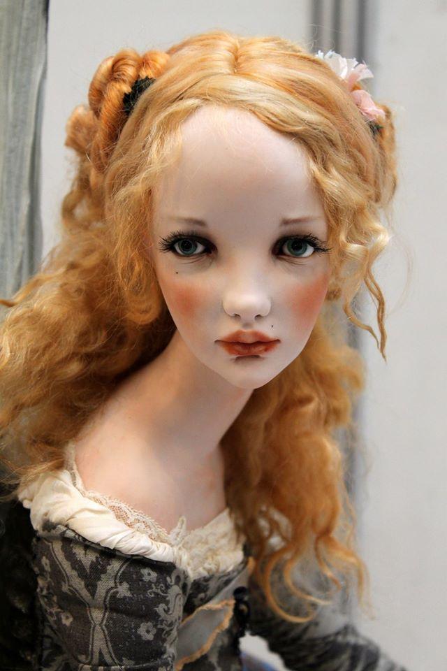 Art doll by Alisa Filippova.