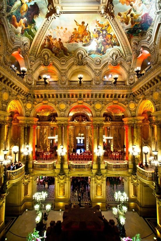 Interior of the Paris Opera | Incredible Pictures