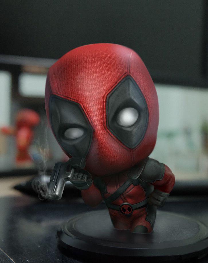 Deadpool FanArt, kuchu pack on ArtStation at https://www.artstation.com/artwork/n20bo