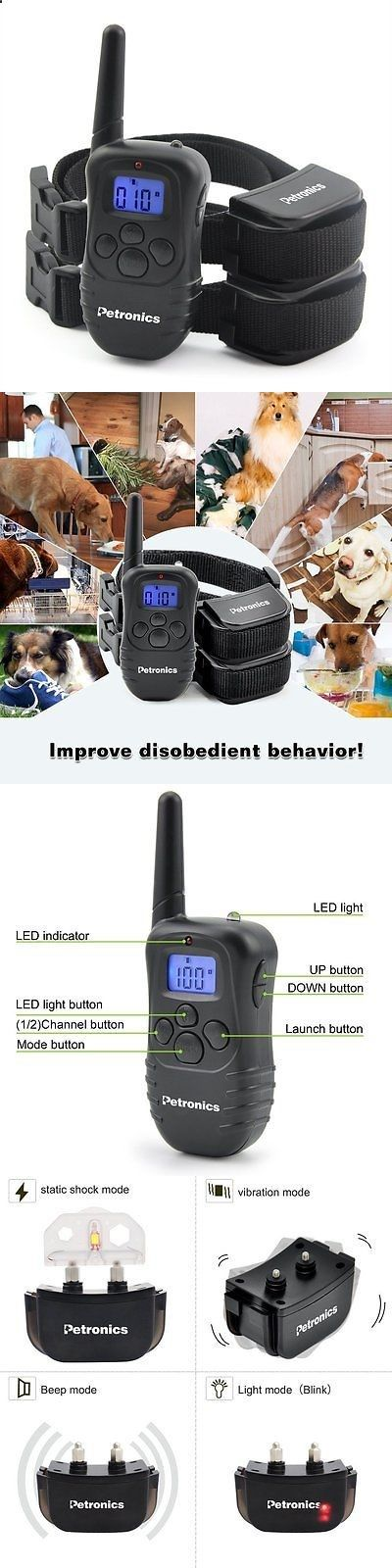 Electronic Fences 116388: 2016 Newest Electric Dog Fence 2 Wireless Shock Collar Waterproof Hidden System/ -> BUY IT NOW ONLY: $48.0 on eBay!