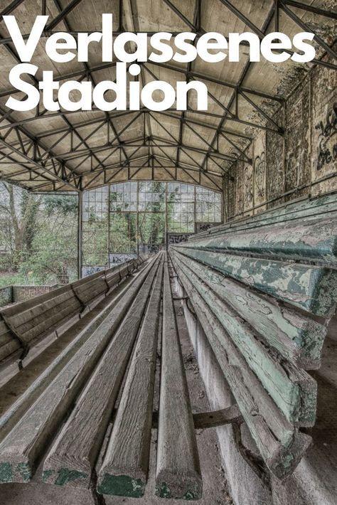 """Ein verlassenes Stadion - ein wohl sehr seltener Anblick! Das Stadion ist bekannt, denn hier wurde der Film """"Das Wunder von Bern"""" gedreht und die ein oder andere Meisterschaft gefeiert! Ich habe diesen tollen Lost Place in Köln besucht und fotografiert!"""