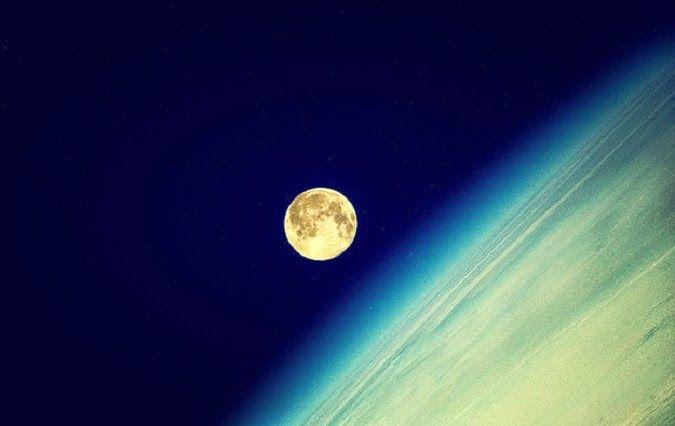 Anonymoi.gr - Ενημέρωση που ξεχωρίζει: Η πανσέληνος μέσα από τα μάτια ενός αστροναύτη!