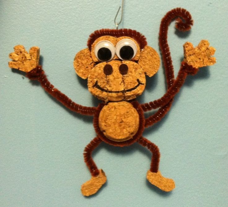"""An animal lover, I thoroughly enjoy creating fun creatures using recycled corks - whether as three-dimensional figurines or as wall hangings. In fact, the first ever """"Cork Creation"""" was a dog..."""