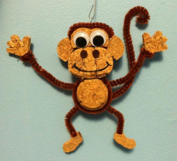 Cork Animals: An Animal Lover, I Thoroughly Enjoy Creating Fun Creatures
