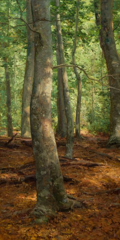 "To me this man is truly a Master.  Oh how I would love to be able to study under him.  Clyde Aspevig ""Woodland Interior"""