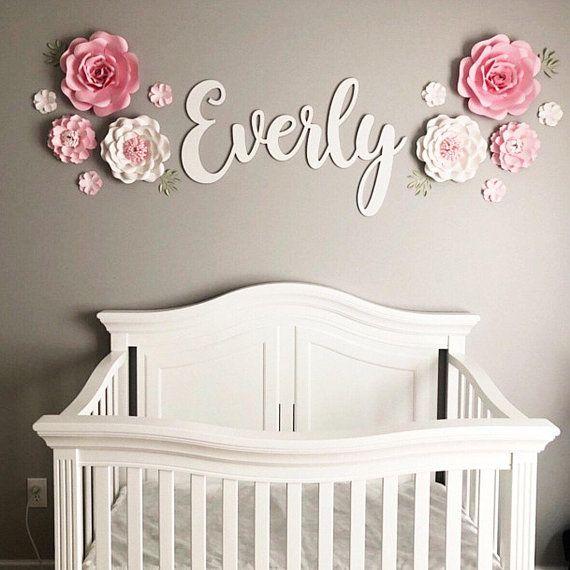 Nursery Name Sign