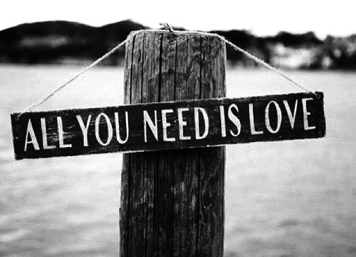 Love Really Is All You Need