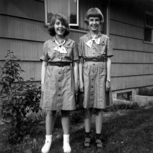 Apparently these are vintage Girl Scouts :D