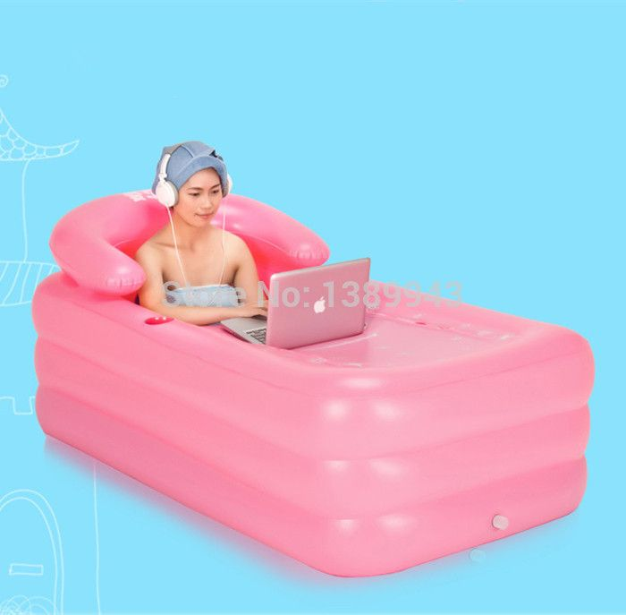kostenlose Express hochwertige rosa aufblasbare badewanne erwachsene frauen Therme bad whirlpool badaccessoires in Farbe:rosaGröße:160*90*50cmMaterial:Umweltfreundliche pvc, nicht- toxischeStandard:Eu en71, uns astmFit Wassertemperatur aus Fass auf AliExpress.com | Alibaba Group