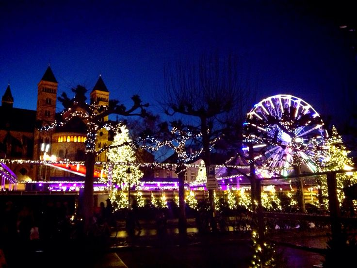 Maastricht, Vrijthof, Holland Christmas, kerst