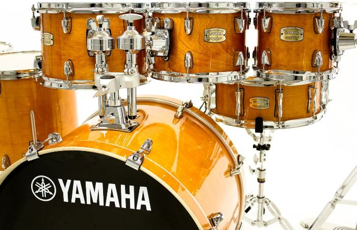 Amber Colored Yamaha